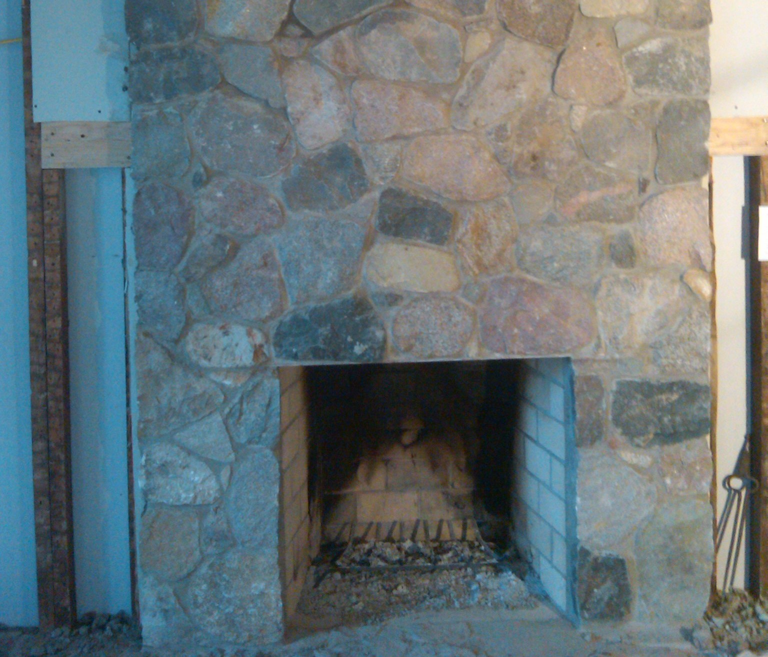 Custom Interior Fireplace